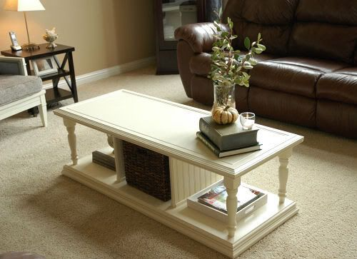Antique White This Looks Pretty Similar In Style To Our Coffee Table