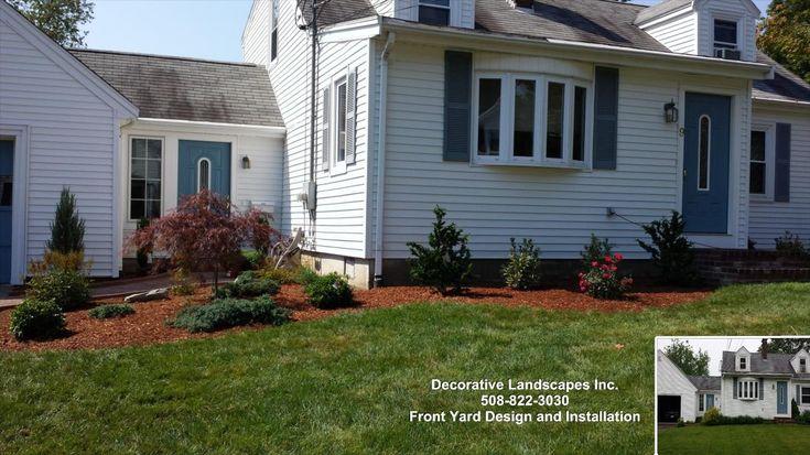 Front yard landscape renewal