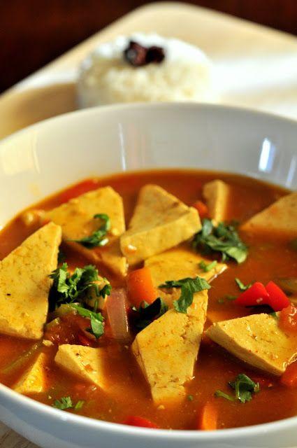 Curried tofu | Food | Pinterest