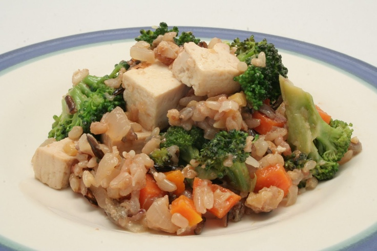 Brown Rice Bowl With Lemongrass, Tofu And Cashews Recipes — Dishmaps