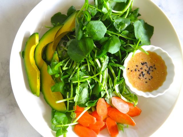 Miso Carrot & Sesame Dressing | (Mostly) Healthy Food | Pinterest
