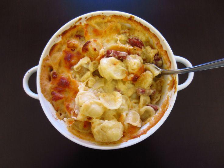 Orecchiette Chorizo Mac and Cheese | Bacon Egg & Cheese{cake} | Pinte ...