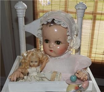 "Vintage Madame Alexander Baby Doll | 17"" Madame Alexander Composition Cloth Baby McGuffey Vintage Toys ..."