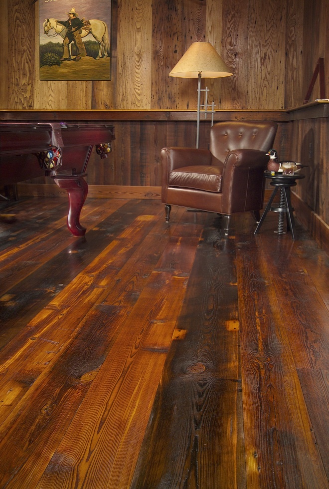 Barn Wood Floors New Kitchen Ideas Pinterest