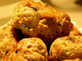 Juicy Chicken Meatballs | Food | Pinterest