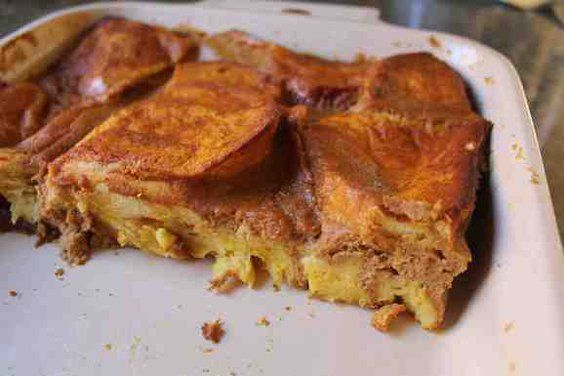 Baked Pumpkin Pie French Toast | Recipe