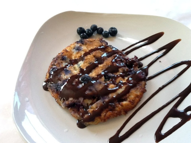Blueberry-Cottage Cheese Pancakes | Break...fast | Pinterest