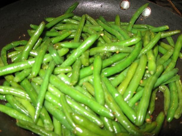 Garlicky Green Beans | Recipe
