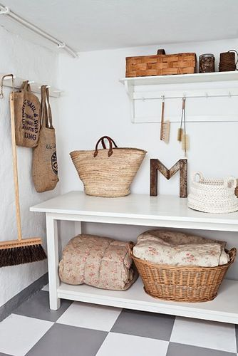 laundry - utility room inspiration / Boligpluss.no
