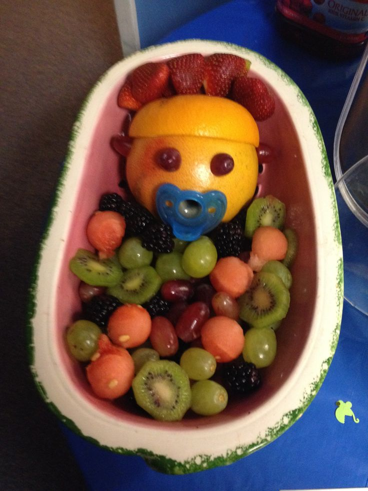 baby shower fruit bowl general pinterest
