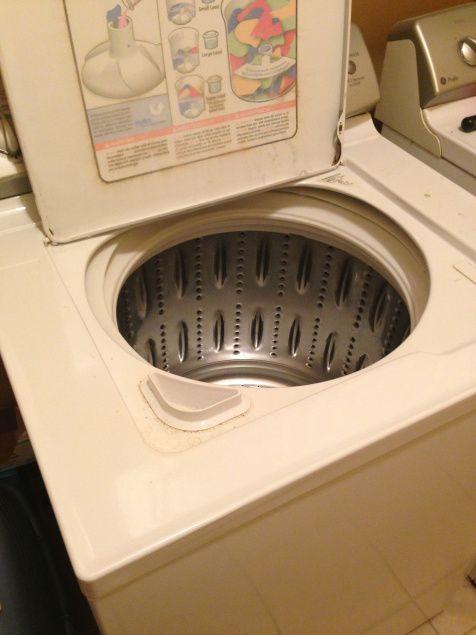 washing machine cleaner recipe