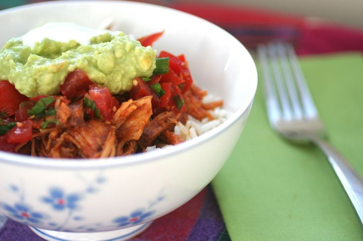 Chipotle Pork Burrito Bowls (Slow Cooker) : Meal Planning 101