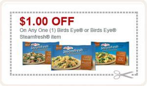 Birds eye steamfresh coupons 2018