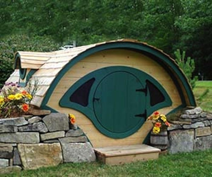 Real Live In Hobbit Home Unusual Habitat Pinterest