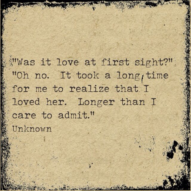 Love at first sight quotes for her