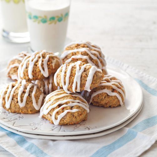 Carrot Cake Cookies | COOKIES, Brownies & Bars | Pinterest