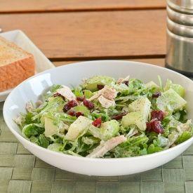 Basil Parmesan Chicken Apple Salad