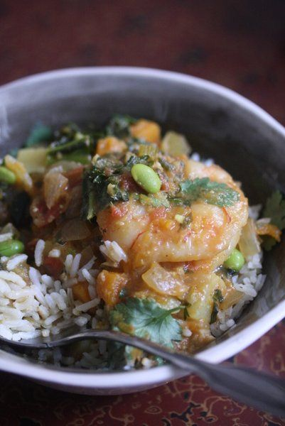 Feeding Friends: African Peanut Stew with Shrimp and Butternut Squash ...