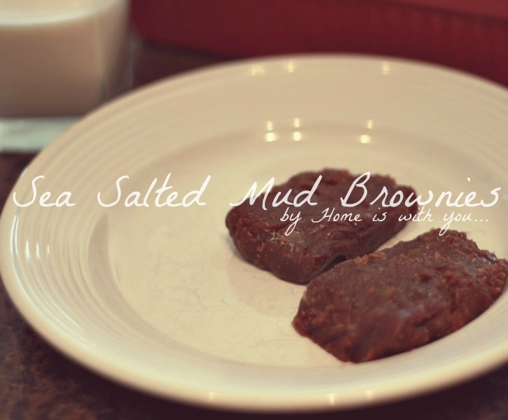 salted fudge brownies | recipes | Pinterest