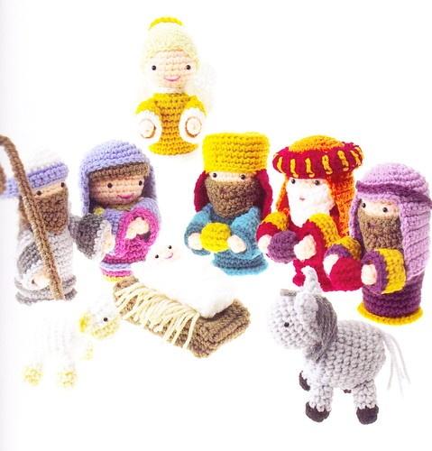 PATTERN - Amigurumi Nativity - sweet Christmas crochet PATTERN