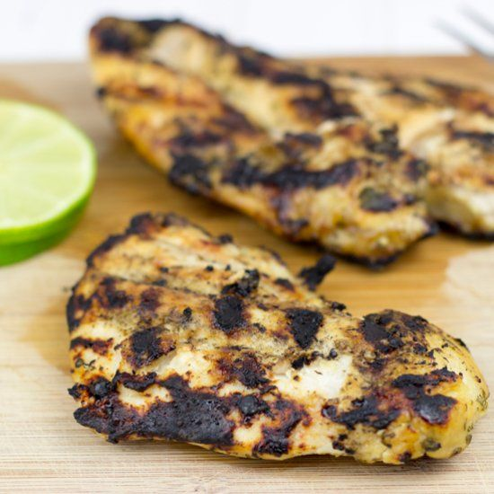 ... up your Saturday! We've got the *perfect* Margarita Grilled Chicken