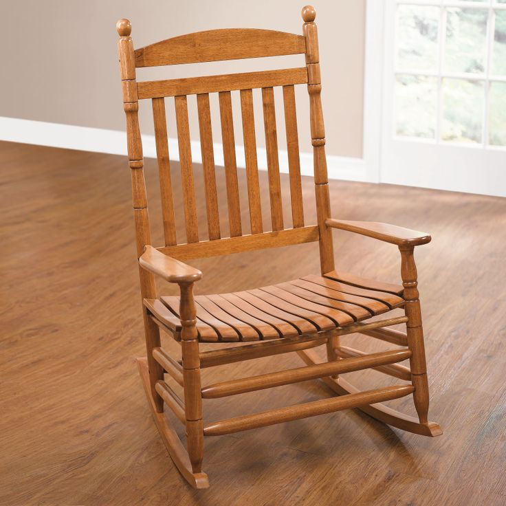 wooden rocking chair to your living room for a hint of charm! Extra ...