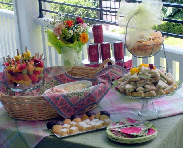 Summer Wedding Lunch Ideas : Ladies summer luncheon parties