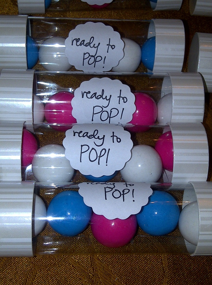 ready to pop baby showers favors