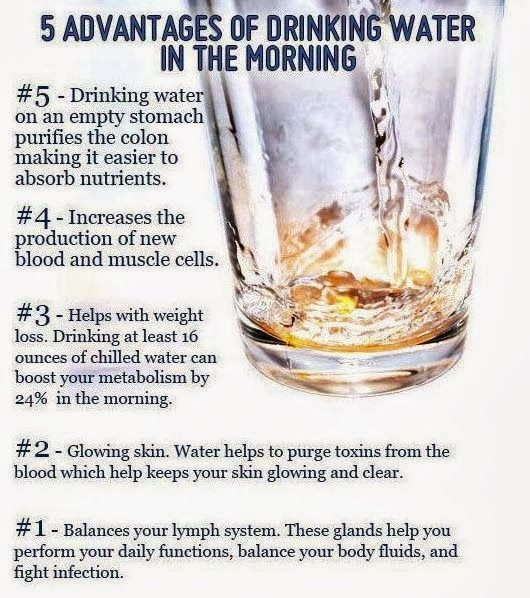Benefits Of Drinking Room Temperature Water In The Morning