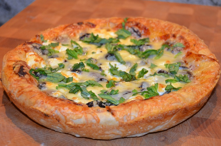 Deep Dish Alfredo Pizza Recipes — Dishmaps
