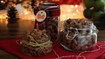 Sweet and Spicy Roasted Almonds | Cooking | Pinterest