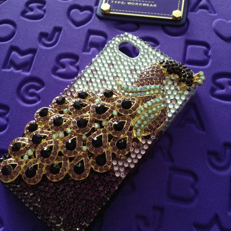 Peacock IPhone case <3!