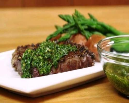 black-pepper-crusted-steak-recipe | Whats for dinner? | Pinterest