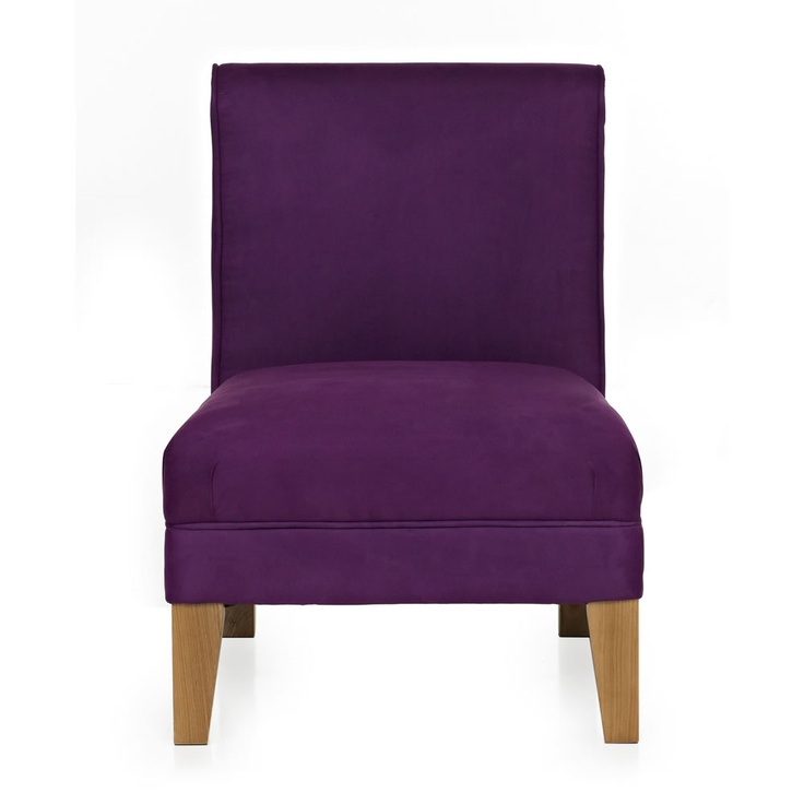 Armless chair for a purple bedroom daelin 39 s new room - Purple chairs for bedroom ...
