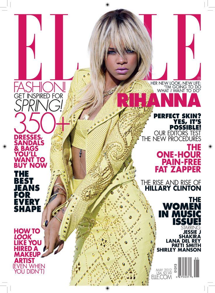 Rihanna - Elle Magazine (May 2012) #HOT