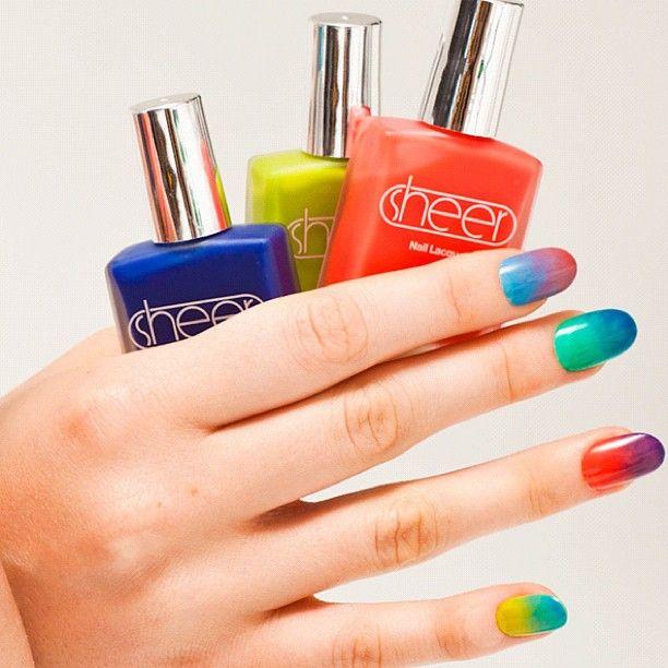 New!  The Sheer Nail Polish by #AmericanApparel.  #nail  #sheer #beauty