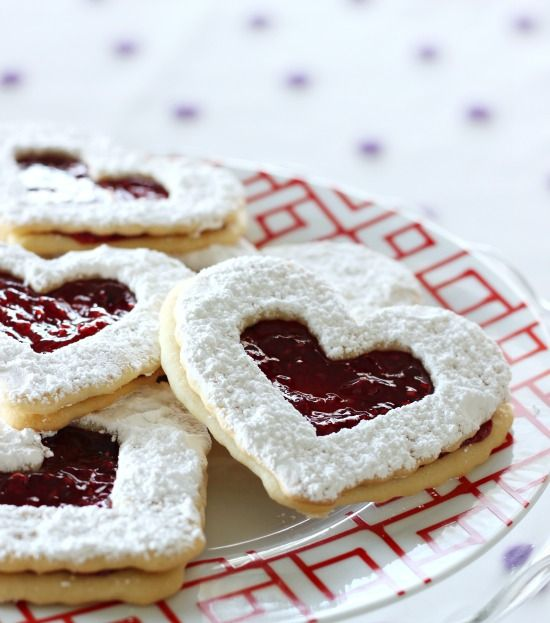 Hi Sugarplum | Easy Linzer Heart Cookies | Yummy Yummy In My Tummy ...