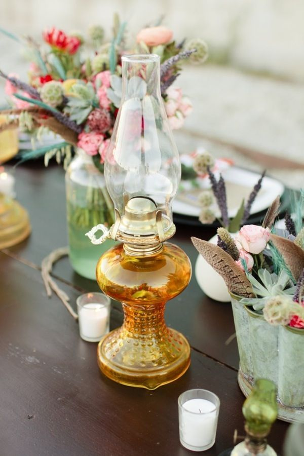 Oil Lamps for Weddings