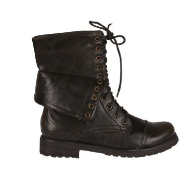 legend-03 Mid Calf Lace up Combat Boots by Beston: Shoes $35.99