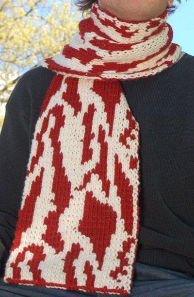 Knitting Pattern Bacon Scarf :