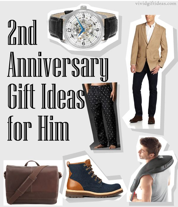 2nd Anniversary Gift Ideas for Him