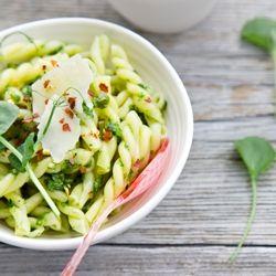 ramp pesto pasta | yummm. | Pinterest