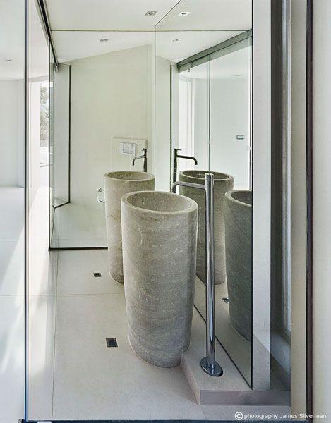 Bathroom wash hand basin. Living Spaces Pinterest