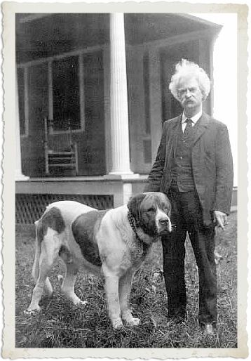 """""""The more I learn about people, the more I like my dog."""" — Mark Twain"""