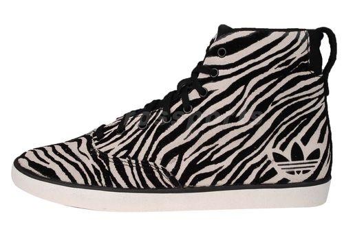 Orginals Azurine Mid W LD Zebra Animal Black White Womens Shoes W60994