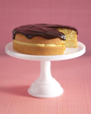 Boston Cream pie - classic recipe | a Side of Sparkle | Pinterest