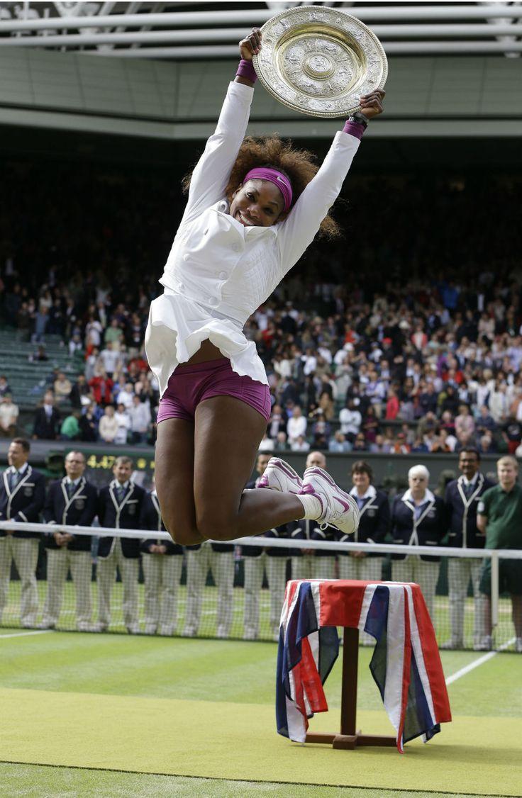 Serena Williams - Wimbledon Champ 2012!