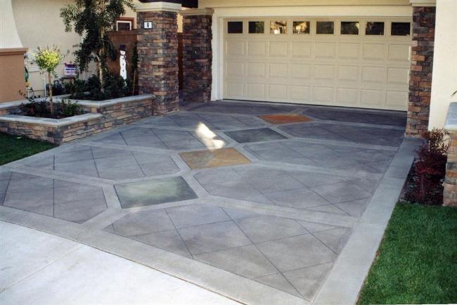 Pin By Concrete Art On Tile Patterns On Concrete Pinterest