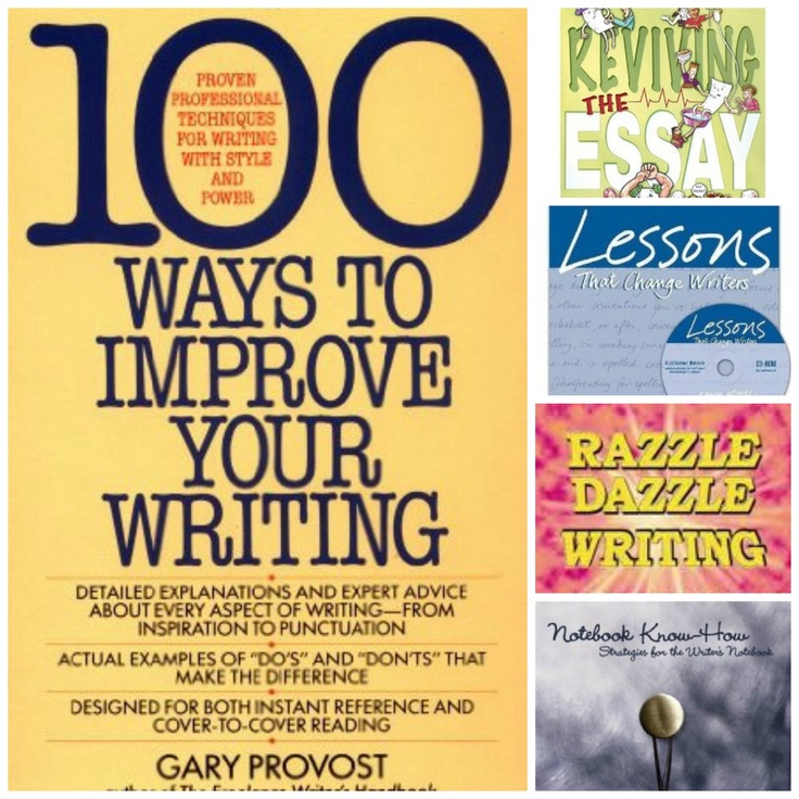 gretchen bernabei - reviving the essay Reviving the essay gretchen an expository teaching idea write essay plan example from writingfix lessons inspired by gretchen bernabei's reviving the essay & the.