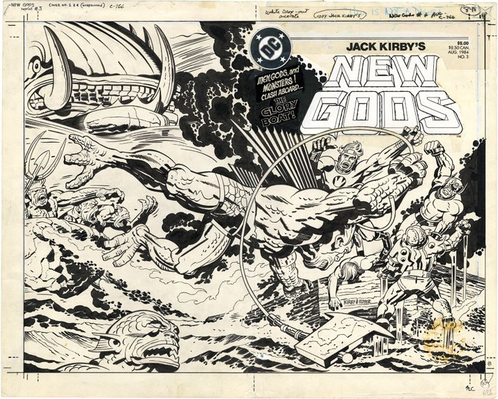 jack kirby new gods coverJack Kirby Cover